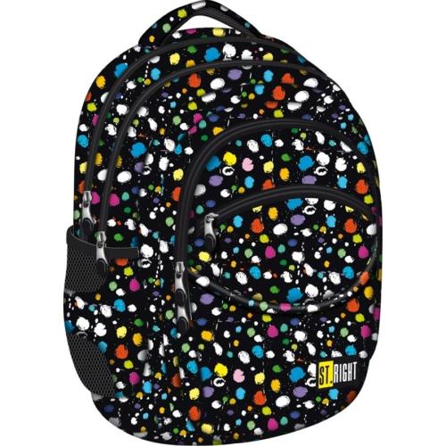 St.Right - Splash hátizsák, iskolatáska - 4 rekeszes (612459)