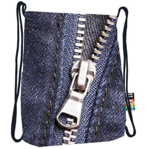 St.Right - Zipper zsinóros hátizsák (613654)