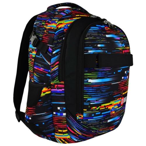 St.Right - Beta Stripes hátizsák, iskolatáska - 3 rekeszes (617966)