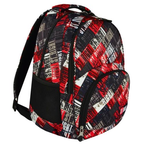 St.Right - St.Grunge hátizsák, iskolatáska - 3 rekeszes (618918)