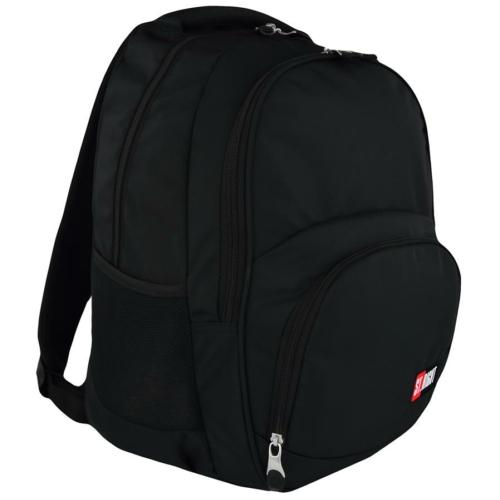 St.Right - St.Black hátizsák, iskolatáska - 3 rekeszes (619083)