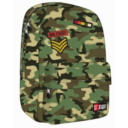 St.Right - Moro hátizsák, iskolatáska - 1 rekeszes (619496)