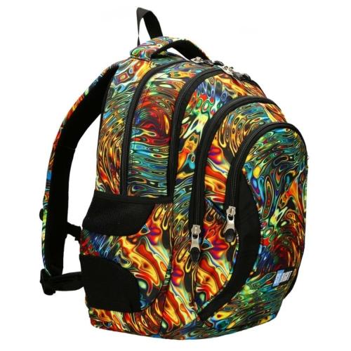 St.Right - Abstraction hátizsák, iskolatáska - 4 rekeszes (620539)