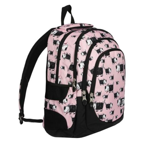 St.Right - Dogs hátizsák, iskolatáska - 4 rekeszes (620690)