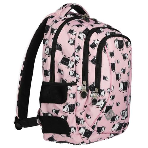St.Right - Dogs hátizsák, iskolatáska - 3 rekeszes (620706)