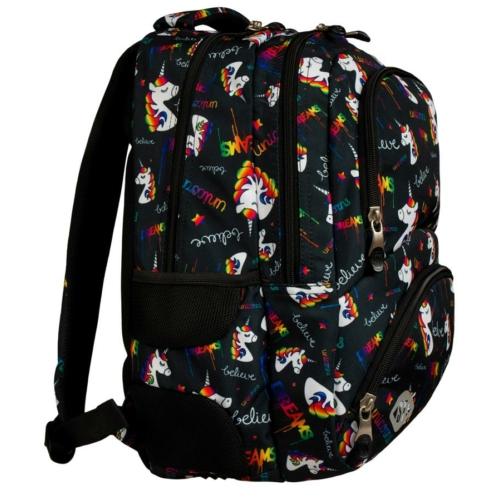 St.Right - Unicorns hátizsák, iskolatáska - 4 rekeszes (620904)
