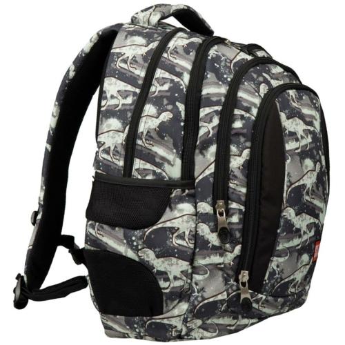 St.Right - Dinosaurs hátizsák, iskolatáska - 4 rekeszes (621093)