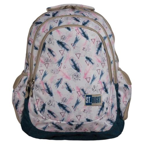 St.Right - Boho hátizsák, iskolatáska - 4 rekeszes (622267)