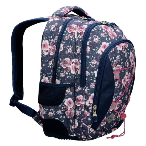 St.Right - Roses hátizsák, iskolatáska - 3 rekeszes (622618)