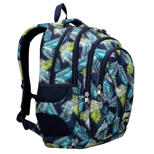 St.Right - Tropical Leaves hátizsák, iskolatáska - 4 rekeszes (622830)