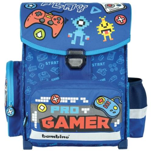 Gamer ergonomikus iskolatáska - Bambino