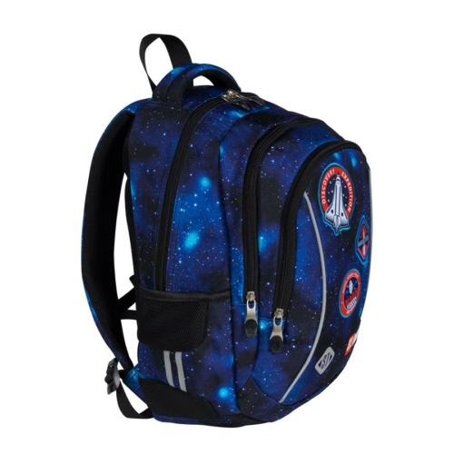 St.Right - Cosmic Mission iskolatáska, hátizsák - 3 rekeszes