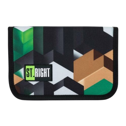 St.Right - Green 3D Blocks tolltartó