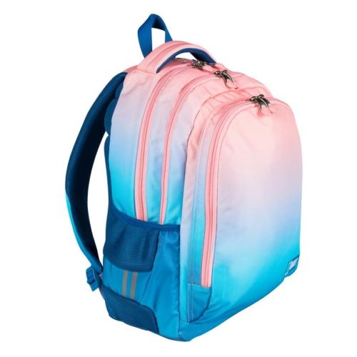 St.Right - Light Ombre hátizsák, iskolatáska - 3 rekeszes