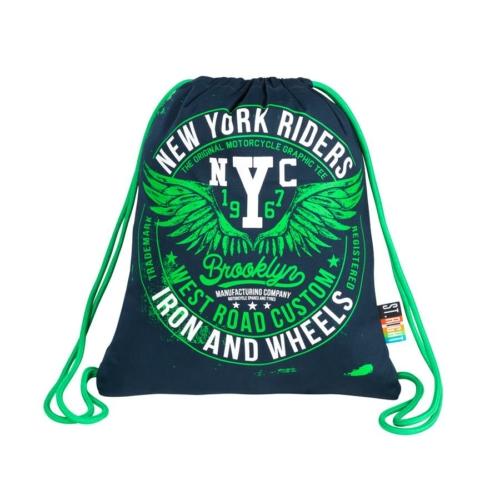 St.Right - New York City zsinóros hátizsák