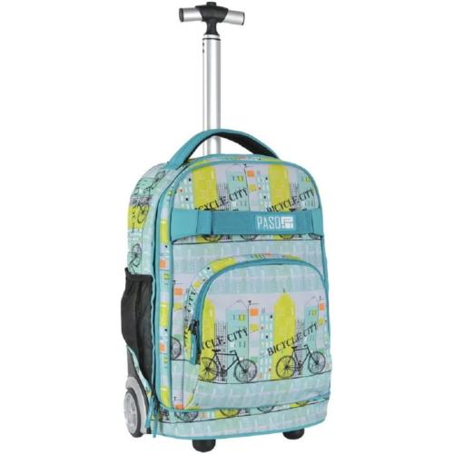 Bicycle City gurulós hátizsák, iskolatáska (17-1230UF)