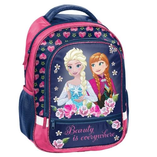 Jégvarázs hátizsák, iskolatáska - 2 rekeszes - Beauty is everywhere