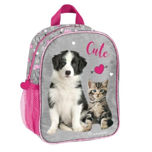 Kutya-cica páros kisméretű hátizsák - Cute