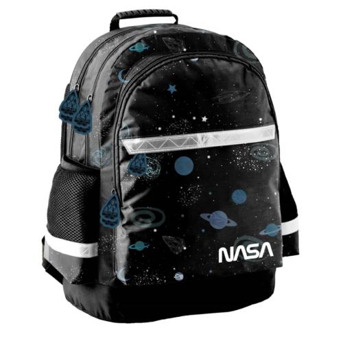 NASA iskolatáska, hátizsák - 3 rekeszes - Galaxis (PP21NS-116)