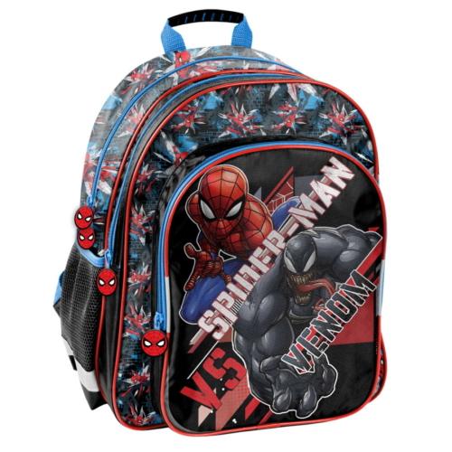 Pókember hátizsák, iskolatáska - 3 rekeszes - Venom (SPX-090)