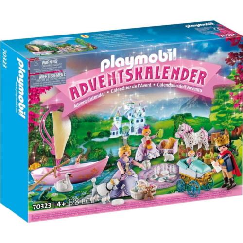 Playmobil - Adventi naptár - Királyi piknik a parkban játékszett