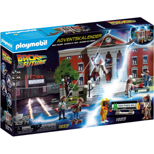 Playmobil - Back to the Future - Adventi naptár - Vissza a jövőbe játékszett