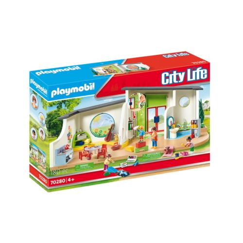 Playmobil - City Life - Szivárvány napközi játékszett