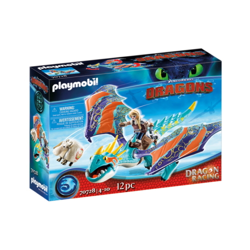 Playmobil - Így neveld a sárkányodat - Dragon Racing - Astrid és Viharzó játékszett