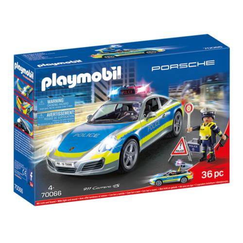 Playmobil - Porche 911 Carrera 4S Rendőrség játékszett