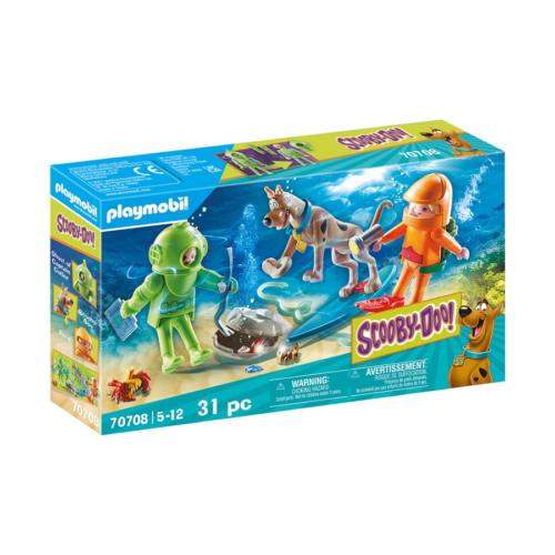 Playmobil - Scooby-Doo! - Ghost of Captain Cutler kaland játékszett