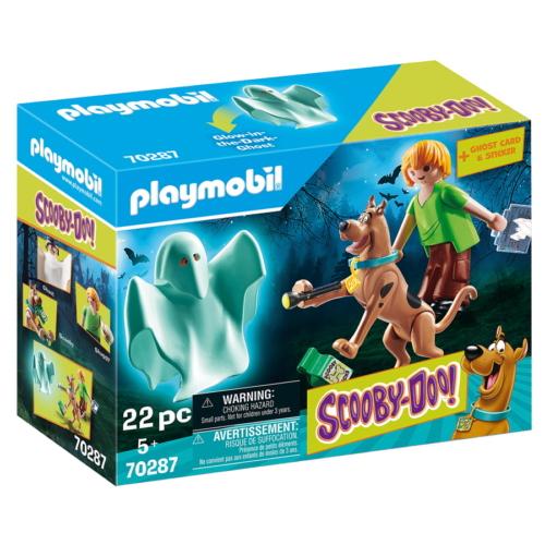 Playmobil - Scooby-Doo - Scooby és Bozont szellemmel játékszett