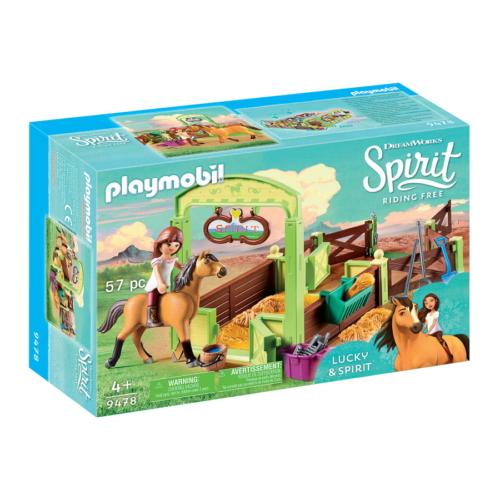 Playmobil - Szilaj, a szabadon száguldó - Lucky és Szilaj boxa játékszett