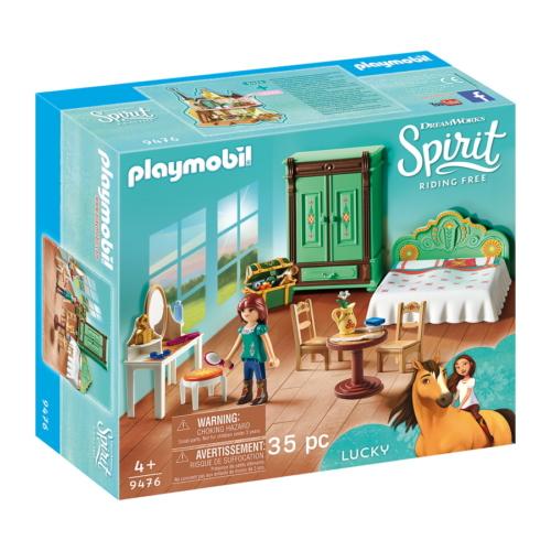 Playmobil - Szilaj, a szabadon száguldó - Lucky hálószobája játékszett