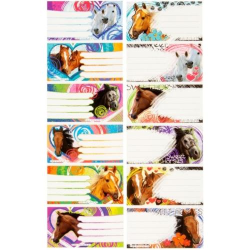 Sweet Horses 6 db-os füzetcímke (298976)