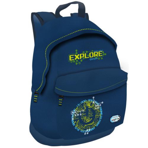 Discovery Explore your world iskolatáska, hátizsák - kék (308575)