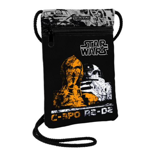 Star Wars - Droidok nyakba akasztható pénztárca, mobiltartó (348687)