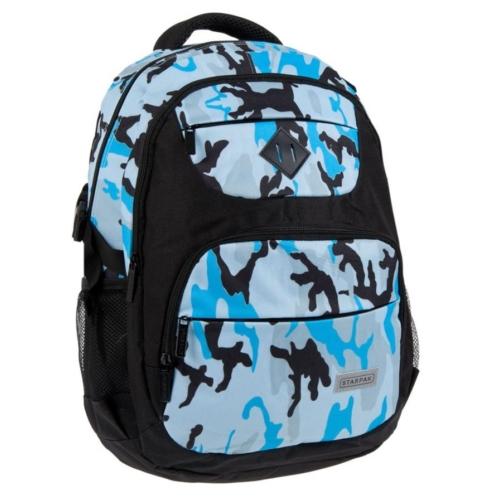 Moro hátizsák, iskolatáska - kék-fekete (351928)
