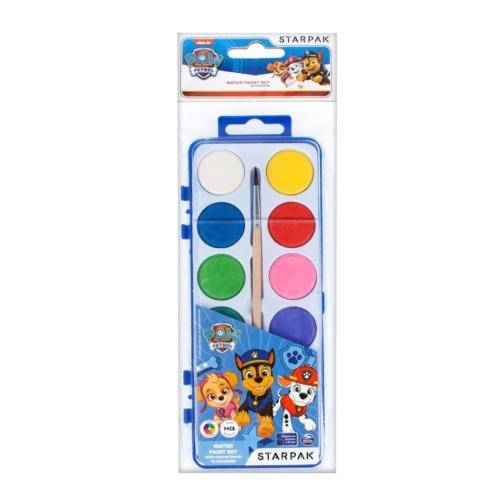 Mancs őrjárat 12 színű vízfesték készlet (352910)