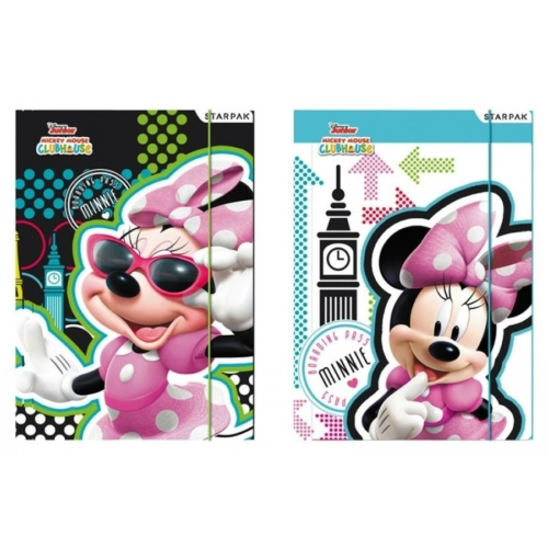 Minnie Mouse A/4 gumis mappa (352912)