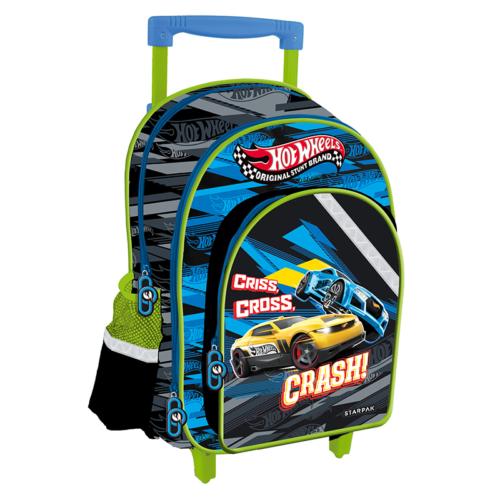 Hot Wheels görgős iskolatáska, hátizsák (372605)