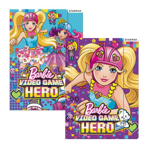 Barbie A/4 gumis mappa - Videogame Hero (382106)
