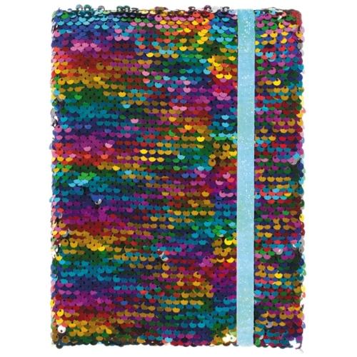 Flitteres gumis napló 15 x 20 cm (382251)