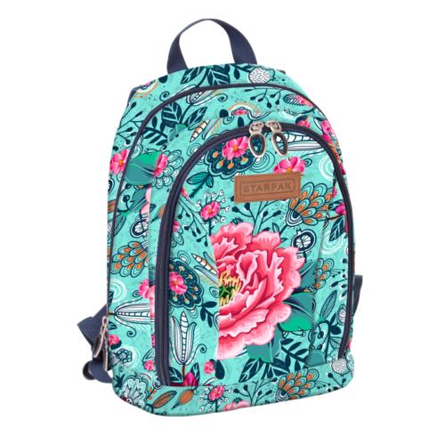 Dhalia 1 rekeszes iskolatáska, hátizsák (388324)