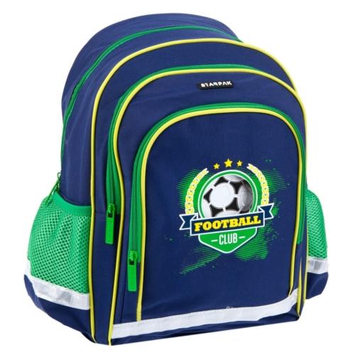 Football Club ergonomikus iskolatáska, hátizsák (391662)