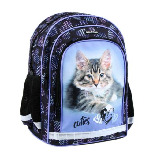 Cuties ergonomikus iskolatáska, hátizsák - Cica (394920)