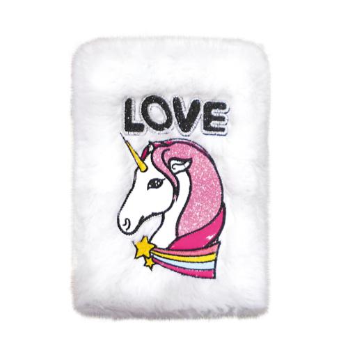 Unikornis Love szőrmés napló - A5 (395105)
