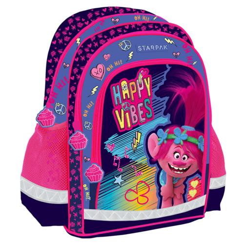 Trollok iskolatáska, hátizsák - Happy Vibes (395165)