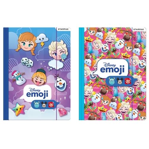 Emoji Jégvarázs A/4 gumis mappa (397925)