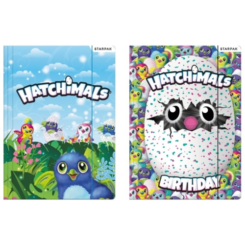Hatchimals A/4 gumis mappa (405418)