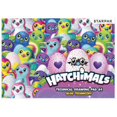 Hatchimals A/4-es rajztömb (405423)